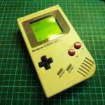 ゲームボーイDMG-01 ライン抜け修理、掃除③「組み上げ」