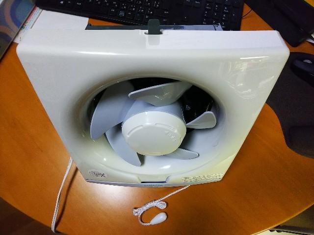 台所用換気扇で作る塗装ブース