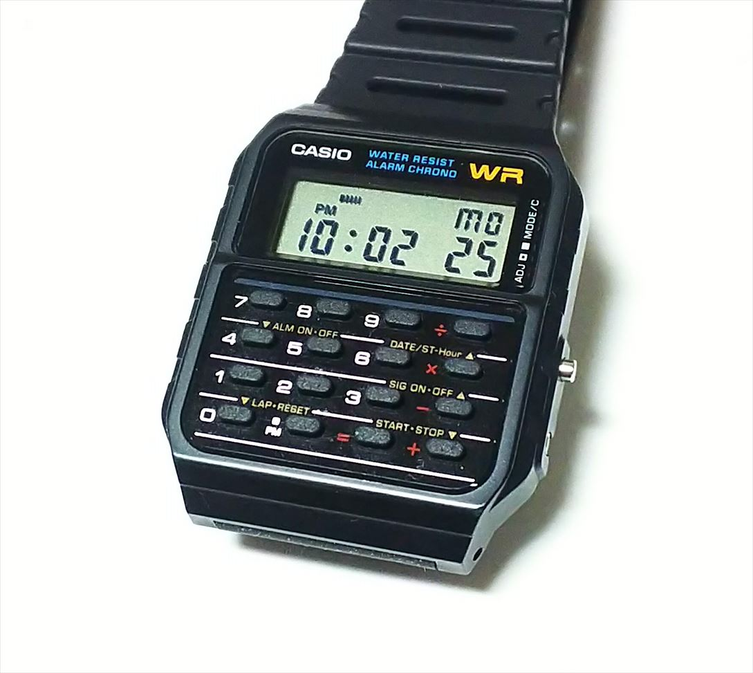 カシオ腕時計 CA-53W-1Zレビュー