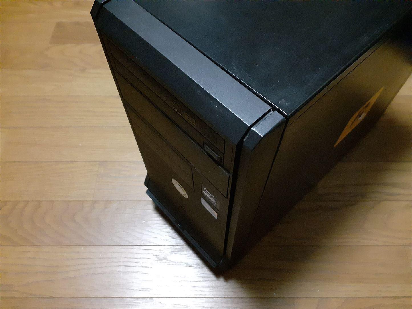 10年前の自作パソコンを復活させる?!